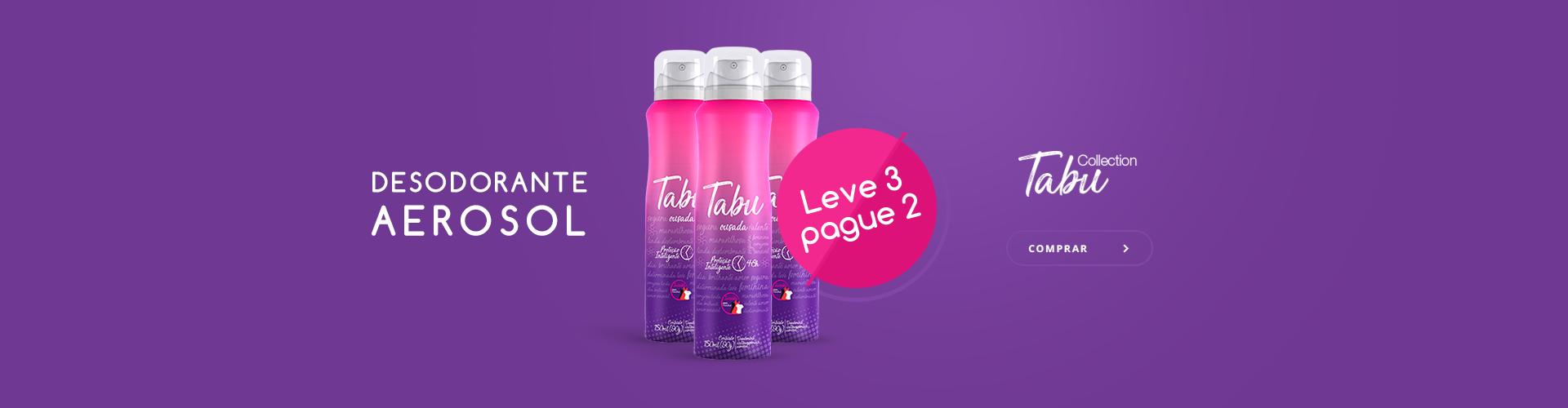 Desodorante Tabu