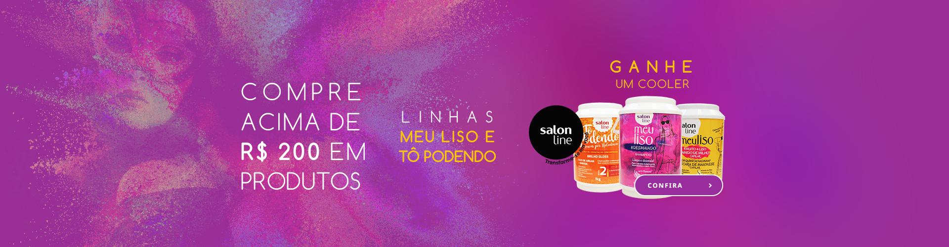 Salon Line - Meu Liso e Tô Podendo
