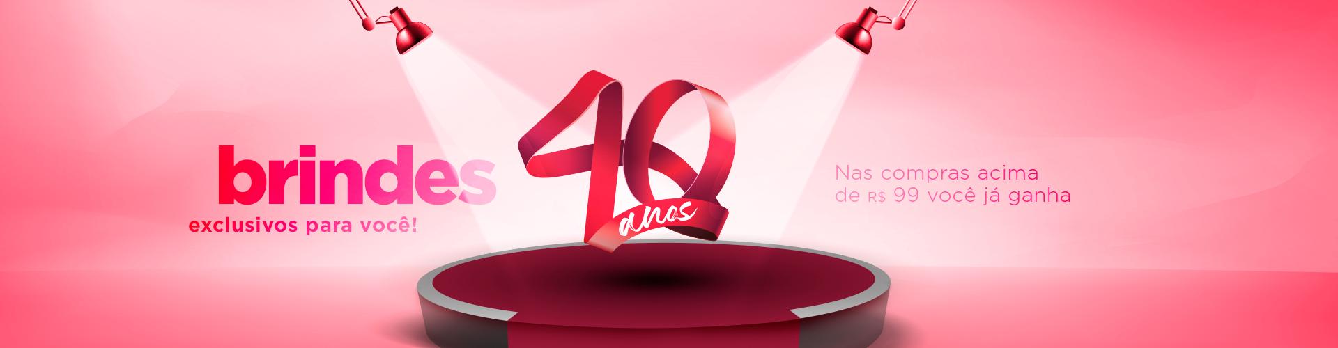 Promoção 40 Anos