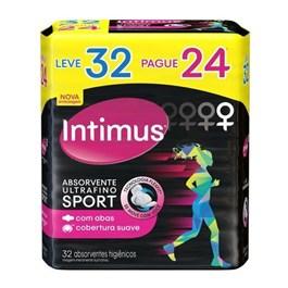 Absorvente Intimus Sport com Abas 32 unidades Suave