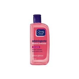 Adstringente Clean & Clear 200 ml Não Oleoso