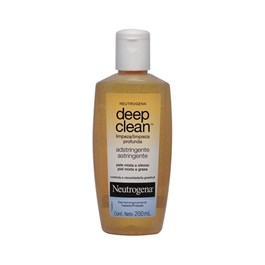 Adstringente  Neutrogena Deep Clean 200 ml Pele Mista e Oleosa