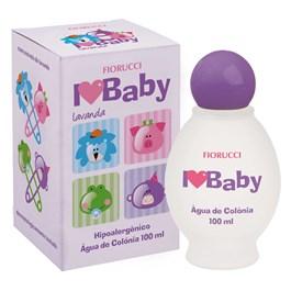 Água de Colônia Fiorucci I Love Baby 100 ml Lavanda