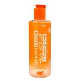 Água Micelar Dermachem 250 ml Vitamina C e Ácido Hialurônico