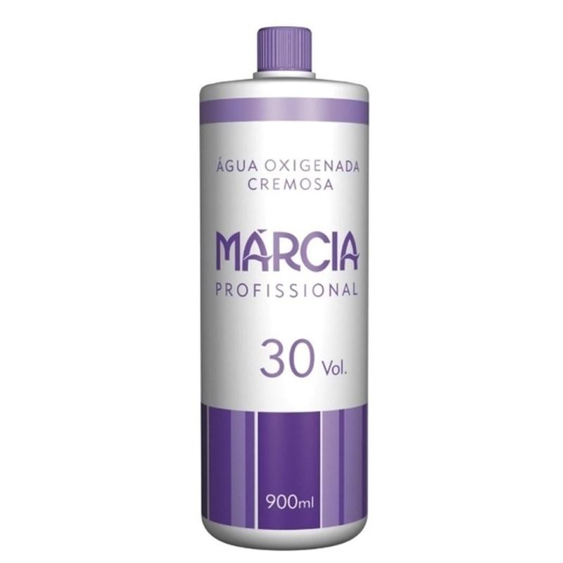 Água Oxigenada Cremosa Márcia 900 ml 30 Volumes