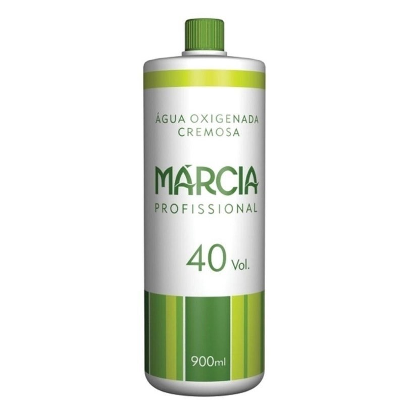 Agua Oxigenada Cremosa Marcia 900 ml 40 Volumes