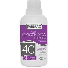 Água Oxigenada Farmax Volume 40 90ml