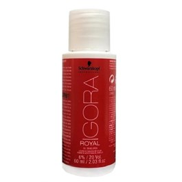 Água Oxigenada Schwarzkopf Igora Royal 60 ml 20 Volumes 6%