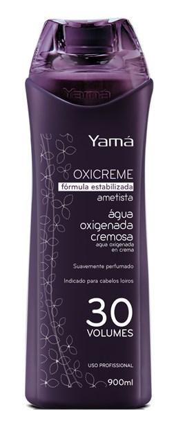 Água Oxigenada Yamá Oxicreme Ametista 900 ml 30 Volumes