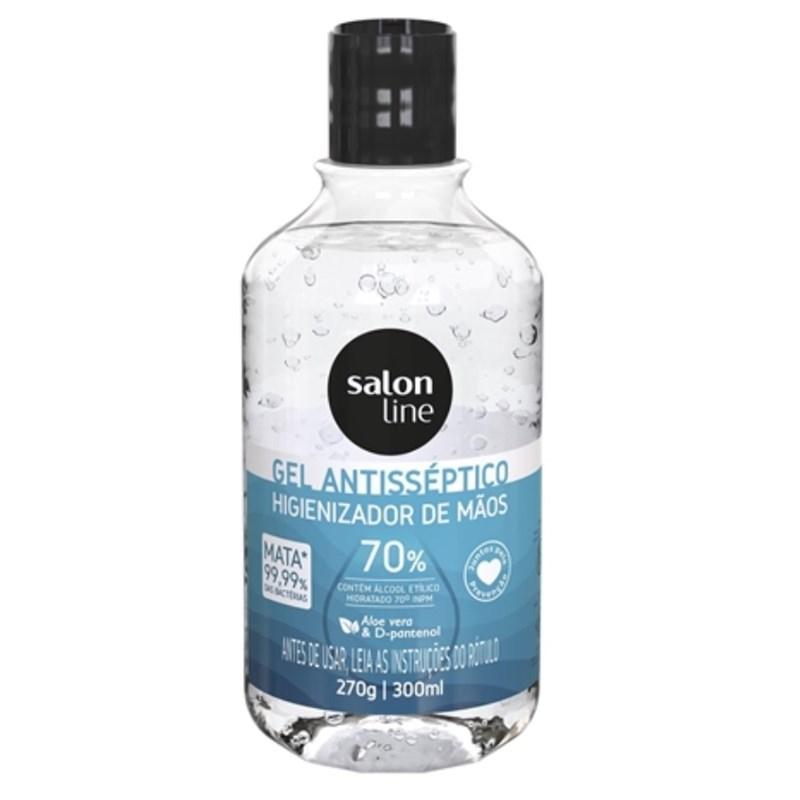Álcool Gel Antisséptico Salon Line 300 ml 70%