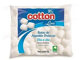 Algodão Cotton line Dia a Dia 50 gr Bola Branca