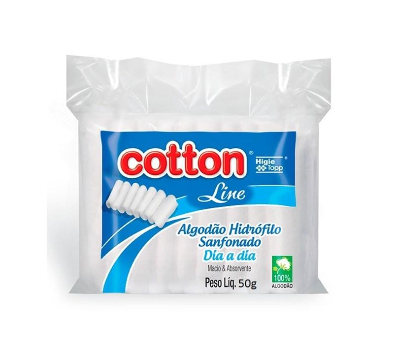 Algodão Cotton Line Dia a Dia 50 gr Sanfonado