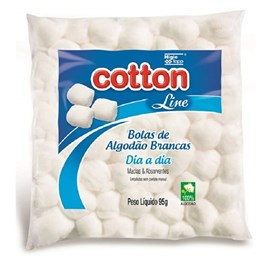 Algodão Cotton line Dia a Dia 95 gr Bola Branca