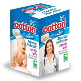 Algodão Hidrófilo Cotton Line Family Care 50 gr