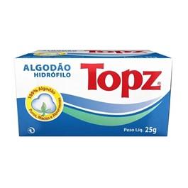 Algodão Topz Hidrófilo 25 gr