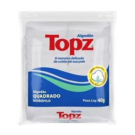 Algodão Topz Quadrado Hidrófilo 40 gr