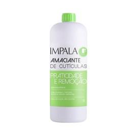Amaciante de Cutículas Impala 1000 ml Praticidade e Remoção