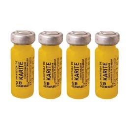 Ampola Dermabel 2,8 ml Manteiga de Karitê 4 unidades