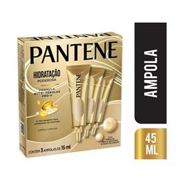 Ampola Pantene 45 ml Hidratação Poderosa 03 unidades