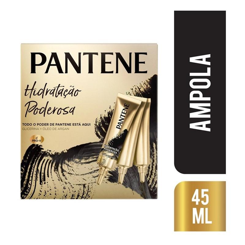 Ampola Pantene Hidro-Cauterização 15ml | Com 3 Unidades