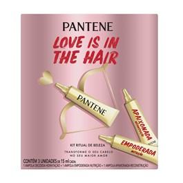 Ampola Pantene Love is in the Hair 15ml | Com 3 Unidades