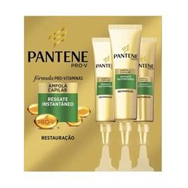 Ampola Pantene Resgate Instantâneo 15ml | Com 3 Unidades