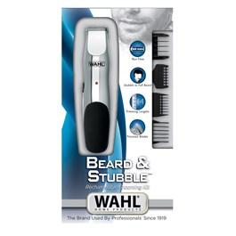 Aparador para Barba Wahl Beard & Stubble Rechargeable Trimmer Bivolt