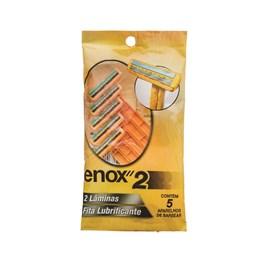 Aparelho de Barbear Enox 2 5 Unidades