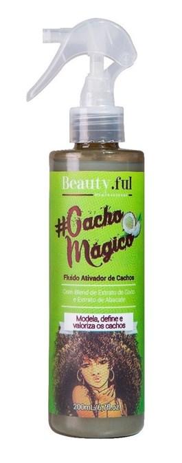 Ativador de Cachos Beauty.Ful #CachoMágico 200 ml Modela, Define e Valoriza os Cachos