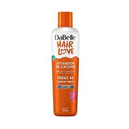 Ativador de Cachos Dabelle Hair Love 300 gr Brilho e Controle