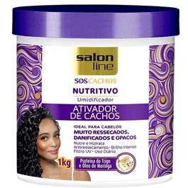 Ativador de Cachos Salon Line 1 kg S.O.S Nutritivo