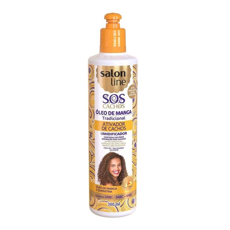 Ativador de Cachos Salon Line 300 ml S.O.S