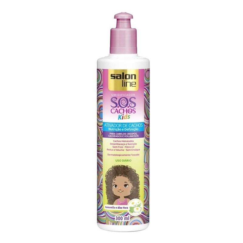 Ativador de Cachos Salon Line 300 ml S.O.S Kids