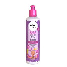Ativador de Cachos Salon Line 300 ml S.O.S Teen