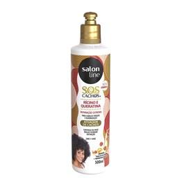 Ativador de Cachos Salon Line S.O.S Cachos 300 ml Oleo de Ricino e Queratina