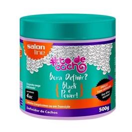 Ativador de Cachos Salon Line #todecacho 500 gr Black é Power