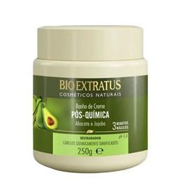 Banho de Creme Bio Extratus Pós Química 250 gr Restaurador