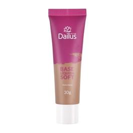 Base Líquida Dailus Soft 30 gr Bege Escuro 08