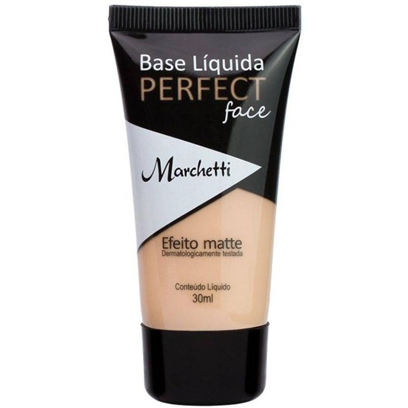 Base Líquida Marchetti Perfect Face 30 ml Efeito Matte N°04