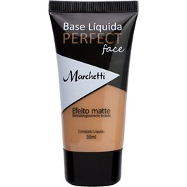 Base Líquida Marchetti Perfect Face 30 ml Efeito Matte N°09