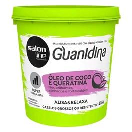Base Relaxante Salon Line Guanidina 215 gr Super Forte