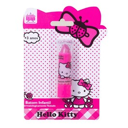 Batom Beauty Brinq Infantil Hello Kitty