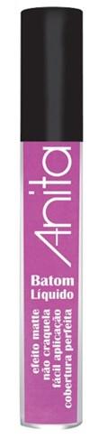 Batom Liquído Anita Matte 4 ml Hot Pink