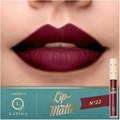Batom Líquido Latika Lip Matte n°22 Vermelho
