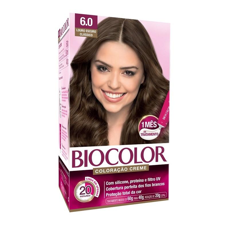 Biocolor Creme Kit Louro Escuro 6.0