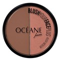 Blush Duo Oceane Blush Your Face Plus Face Brown Orange