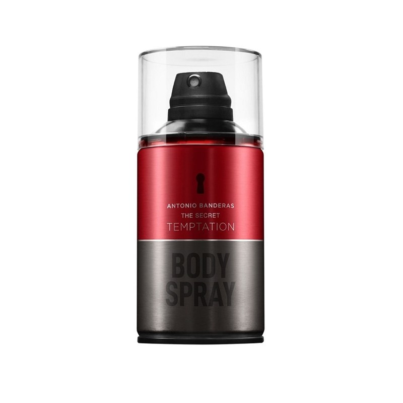 Body Splash Antônio Bandeiras 250 ml The Secret Temptation