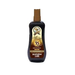 Bronzeador Spray Gel Australian Gold FPS 15 237 ml