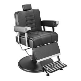 Cadeira Barbeiro Marri Detroit Reclinável Preto Facto