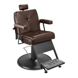 Cadeira Barbeiro Marri Milão Reclinável Café Facto